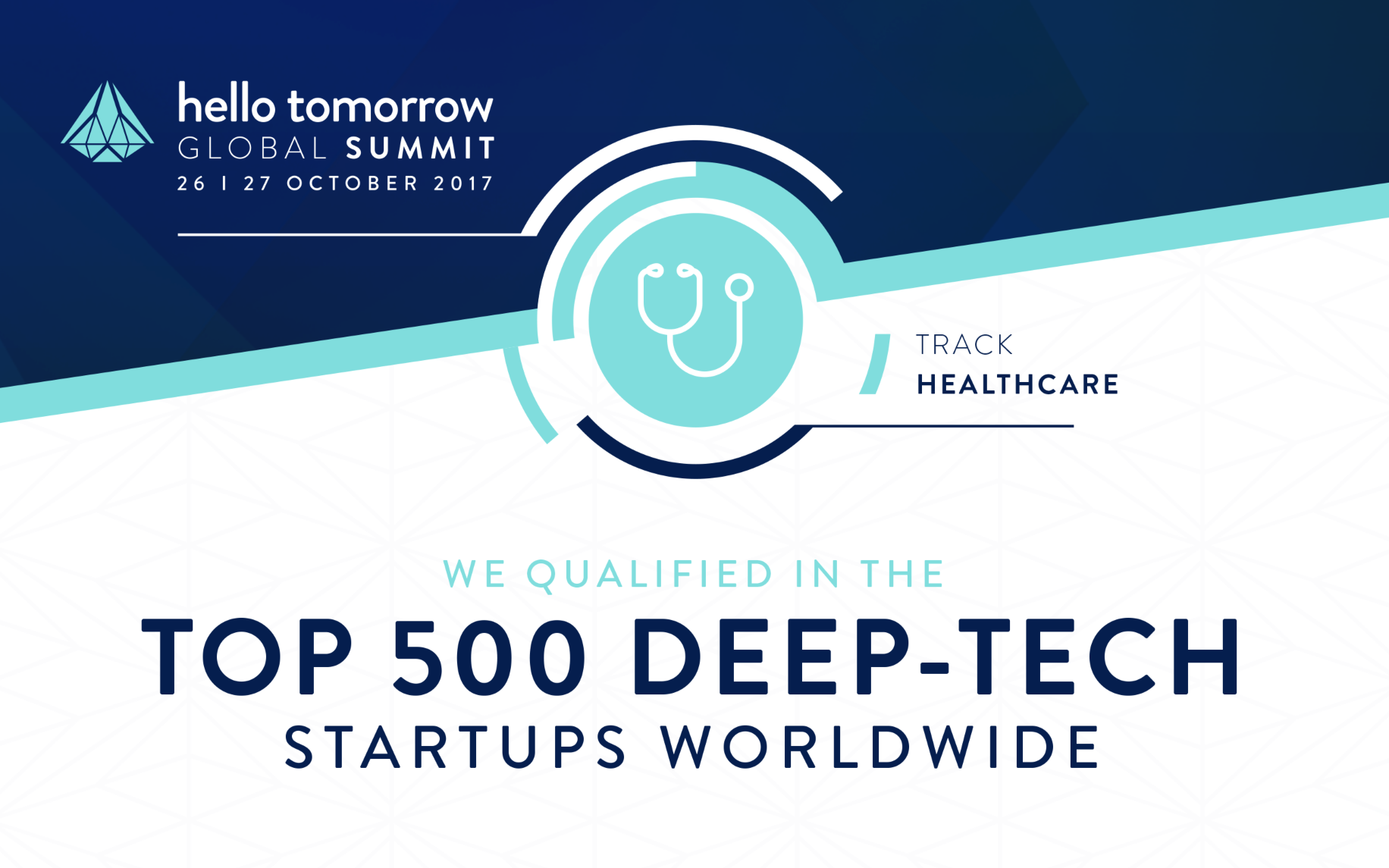 We Qualified in the Top 500 - Healthcare track